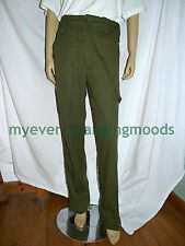 "LIGHTWEIGHT TROUSERS 31"" BRITISH ARMY SURPLUS RAF NAVY MARINES OLIVE GREEN PANTS"