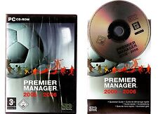 PREMIER MANAGER 2005 - 2006. FOOTBALL MANAGEMENT GAME FOR THE PC!!