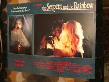The Serpent And The Rainbow 1988 Universal horror lobbycard Aleta Mitchell Badja