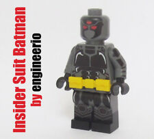 LEGO Custom -- Insider Suit Batman - DC  minifigures knight dark super heroes