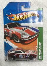 Hot Wheels 2011 Super Treasure Hunt Datsun 240Z mint in protector