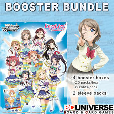 Love Live! Sunshine!! Weiss Schwarz Booster Box BUNDLE