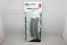 Kato 20-174 Noch 78119 Unitrack N 4 x gebogenes Gleis R150-45°/NEU