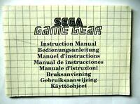 48622 Instruction Booklet - Sega Game Gear - Sega Game Gear (1991)