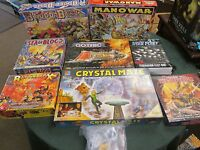 Vintage Classic Board Games; Games Workshop Blood Bowl OOP Avalon Hill M11