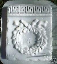 Roman wreath plastic mold concrete casting plaster mould