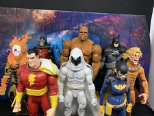 Huge Marvel Legends Dc Custom Figure Fodder Lot Batman Moon Knight Xmen Shazam