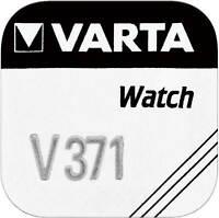 3x VARTA Watch V 371 Uhrenzelle Knopfzelle SR 920 SW V371 Uhrenbatterie 1'er BL