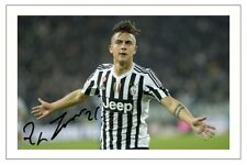 PAULO DYBALA JUVENTUS AUTOGRAPH SIGNED PHOTO PRINT SOCCER
