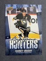 2008-09 Upper Deck Series 2 Big Game Hunters #BGH-SC Sidney Crosby Penguins