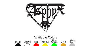 ASPHYX VINYL DECAL STICKER CUSTOM SIZE AND COLOR 002