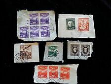 Slowakei 1940 /41  - verschiedene, Flugpost auf Briefstücke
