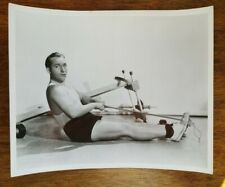 Photo of Bing Crosby Working Out Circa 1939