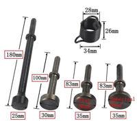 5PCS Pneumatic Bits Set Smoothing Hammer Air Chisel Bits Tools Kit With Spring