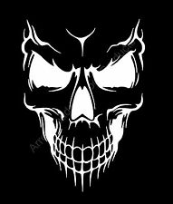 Skull Face Close up Vinyl Decal Sticker Car Truck Window