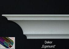"""30 Meter+ 4 I-A Ecken 7cmx7cm Stuckleiste Stuckprofil Zierleisten """"Egersund"""""""