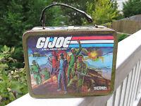 Vintage 1982 GI Joe Hasbro's Metal Lunchbox & Plastic Thermos.
