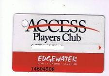 Edgewater Hotel Casino Slot Machine Card Laughlin Nevada