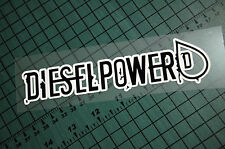 DIESEL POWER Sticker Decal Vinyl JDM Euro Drift Lowered illest Fatlace