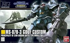 Bandai Gundam HGUC 1/144 117 MS-07B-3 GOUF CUSTOM Maquette/Model Kit GHG05