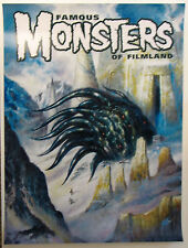 Famous Monsters of Filmland POSTER - LOVECRAFT Bob Eggleton Cover art