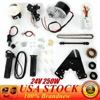 Electric Bike Conversion Kit Fit for 22-29 inch Bike Motor 24V 250W US Stock New