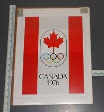 "1976 CANADA OLYMPICS POSTER NOS 1996 ATLANTA OLYMPIC SOUVENIR 12"" X 16"""