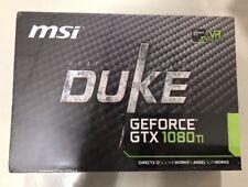 MSI GEFORCE GTX 1080 TI DUKE GeForce 11GB OC 912-V360-024 FREE SHIPPING