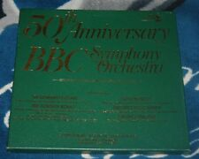 50TH ANNIVERSARY BBC SYMPHONY ORCHESTRA 4LP BOX BOULT/BUSCH/TOSCANINI/WALTER