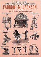 BOOK:  FARROW & JACKSON (Wine & Spirit Merchants and General Engineers)