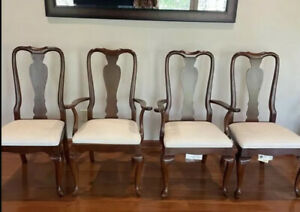 Vintage Ethan Allen Dining Chairs~(Set Of 4) 11 6400-205~ Great Condition!