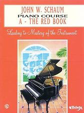 JOHN SCHAUM PIANO COURSE A - THE RED BOOK EL00166A - BRAND NEW