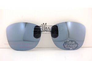 New Silhouette Eyeglasses Clip-on Style Shades A1 07 GRAY POLARIZED SZ 62/64mm