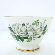 Vintage Royal Stafford Camellia Bone China Floral Sugar Bowl