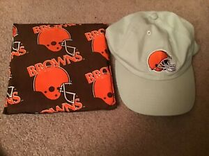 Cleveland Browns Cap and Pillow