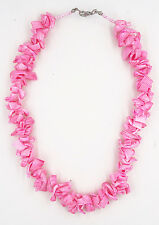 Fabulous New Handmade Pink Puka Shell Necklace #N2131
