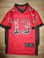 Kurt Warner #13 Arizona Cardinals Reebok NFL Jersey Youth M 10-12 child