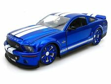 JADA 2008 Shelby Cobra GT-500KR BLUE 1/24 Diecast Car NEW IN BOX 96729