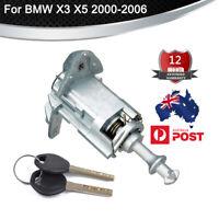 Front Left LH Driver Side Door Lock Cylinder Barrel W/ 2 Key For BMW X3 X5