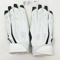 🔥 New Nike D-Tack 6.0 Football Linemen Gloves 2XL Padded White Black Adult BB🔥