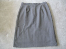 Ladies Brown Skirt Fully Lined Size 20 Honey Bees Length 28 Inches