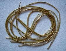 Bouillondraht, Bouillon-Draht - gold 2,0mm/2m (Kantille)