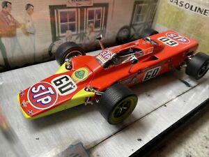 Carousel 1 Joe Leonard 1968 Stp Lotus Turbine Indy 500 Course Voiture #60 Box 1: