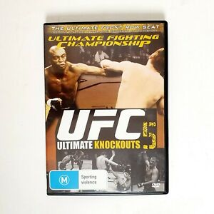 UFC 5 Ultimate Knock Outs Movie DVD Region 4 AUS Free Postage - Fighting Action