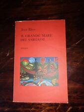 """LOTTO RARO ADELPHI """"IL GRANDE MARE DEI SARGASSI"""", JEAN RHYS, 1^ EDIZIONE 02/1971"""