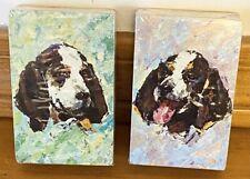 2 Decks Vintage Stardust Playing Cards Springer Spaniel Dog