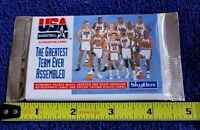 1992 USA Basketball Team 8 Collector Card Set Skybox Factory Sealed Unopened