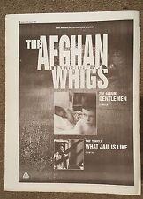 THE AFGHAN WHIGS Gentleman 1994 Edición anuncio completo Páginas 27 x 38cm Mini