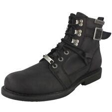 Mens Harley Davidson Lace Up Ankle Boots Harrison D93438