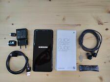 Samsung Galaxy S9 Duos 64GB - Midnight Black (Ohne Simlock) + Schutzhülle/Folie